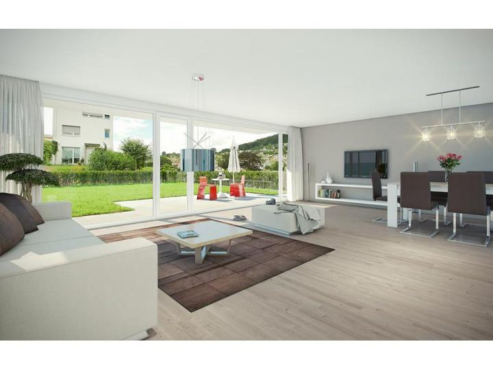 Wohnträume im Sonnenquartier Morgenwies in der Schweiz