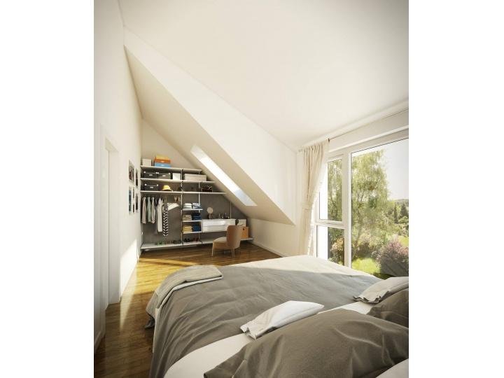 Einfamilienhäuser im idyllischen Schweizer Rumlikon