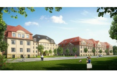 Visualizations for the monument object Maximilian residence in Chemnitz - Germany