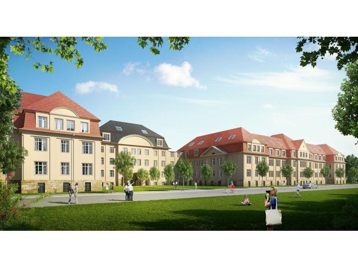 Visualisierungen für das Denkmalobjekt Maximilian Residenz in Chemnitz