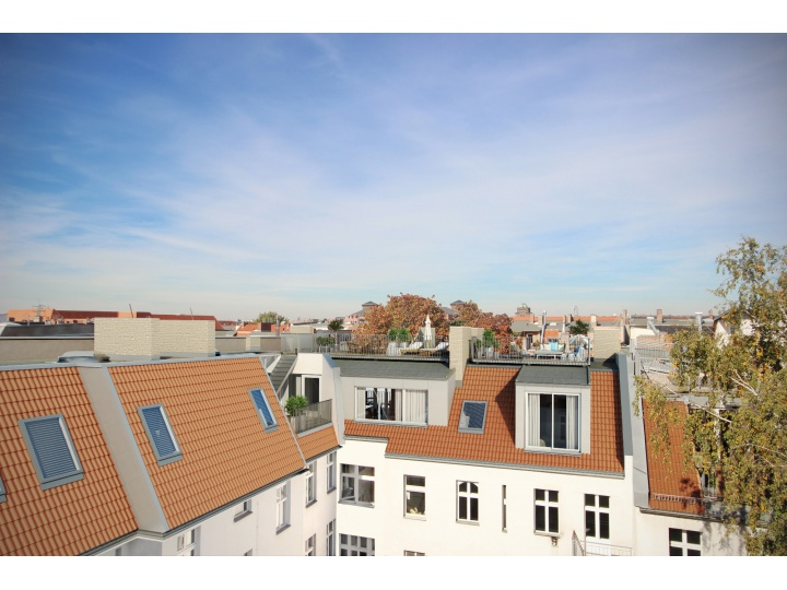Attic Floor Conversion in South-After Berlin Prenzlauer Berg